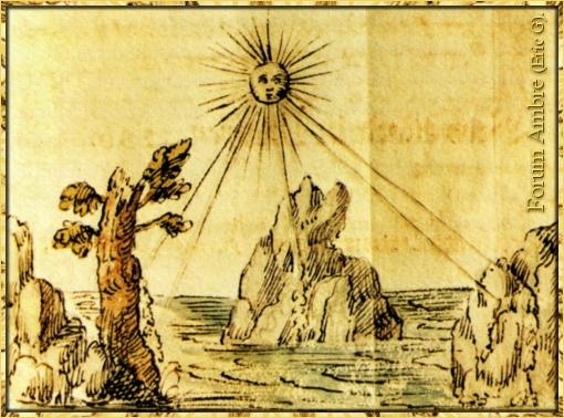 L'ambre, pierre du soleil....