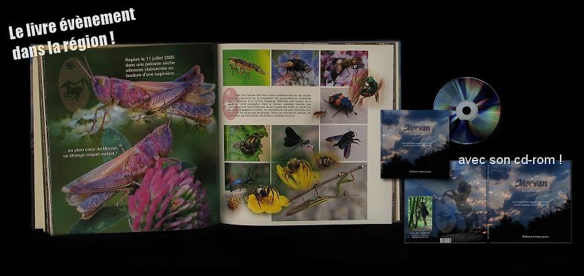 L'ouvrage MORVAN disponible avec son cd-rom